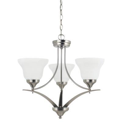 Sea Gull Lighting 31173BLE-962 Brockton - Three Light Chandelier
