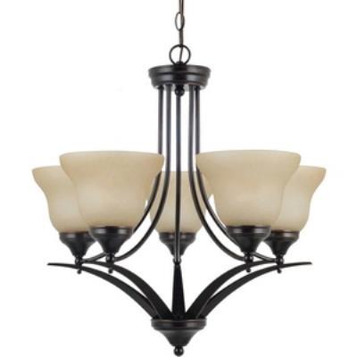 Sea Gull Lighting 31174BLE-710 Brockton - Five Light Chandelier