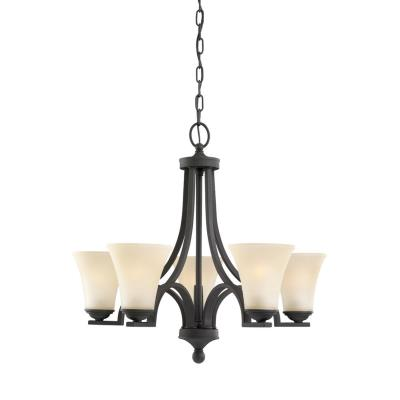 Sea Gull Lighting 31376BLE-839 Somerton - Five Light Chandelier