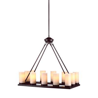 Sea Gull Lighting 31588BLE-710 Ellington - Twelve Light Chandelier