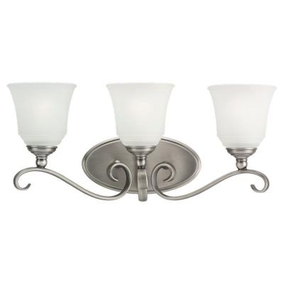 Sea Gull Lighting 49382BLE-965 Three-Light Fluorescent Wall/Bath