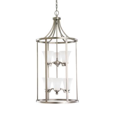 Sea Gull Lighting 51376BLE-965 Somerton - Six Light Hall Foyer