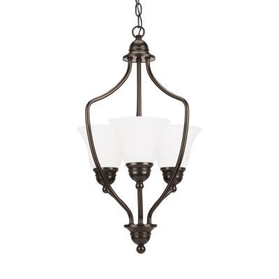 Sea Gull Lighting 51410BLE-782 Livingston - Three Light Foyer
