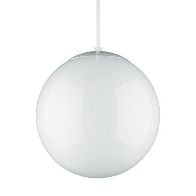 "Sea Gull Lighting 6020-15 10"" Glass Globe Pendant"