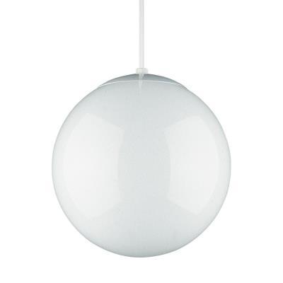 "Sea Gull Lighting 6024-15 14"" Glass Globe Pendant"