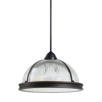 "Sea Gull Lighting 65062-715 Pratt Street - 16.25"" Three Light Pendant"