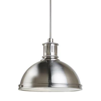 "Sea Gull Lighting 65087BLE-962 Pratt Street - 16"" Three Light Pendant with Bulbs Included"