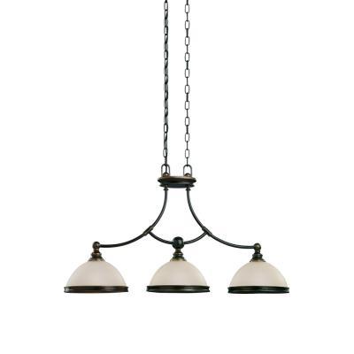Sea Gull Lighting 66330-825 Three-Light Warwick Pendant / Billiard Light
