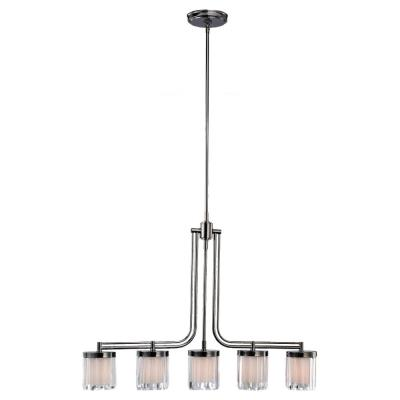 Sea Gull Lighting 66690-765 Nuit Noir - Five Light Pendant