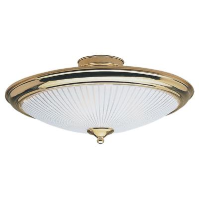 Sea Gull Lighting 7457-02 Three-light Close To Ceiling Fixture
