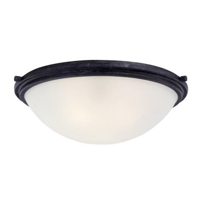 Sea Gull Lighting 75662 Winnetka - Three Light Ceiling Flush Mount