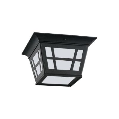 Sea Gull Lighting 79131BLE-12 Herrington - One Light Outdoor Flush Mount