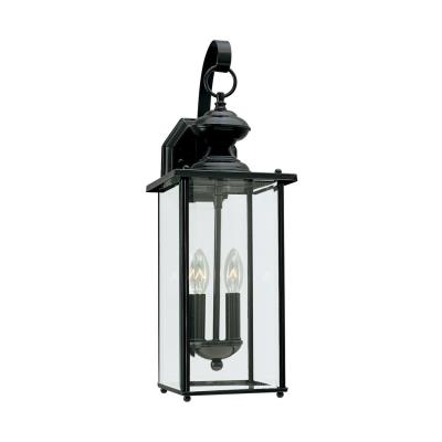 Sea Gull Lighting 8468-12 Two Light Outdoor Wall Fixture