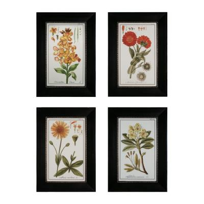 "Sterling Industries 10004-S4 33.25"" Flowers Wall Art - (Set of 4)"