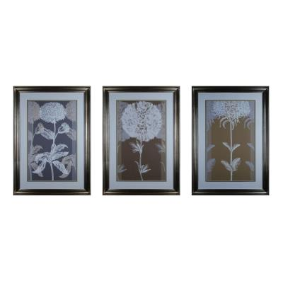"Sterling Industries 10005-S3 48.5"" Neutral Efflorescence Wall Art ( Set of 3)"