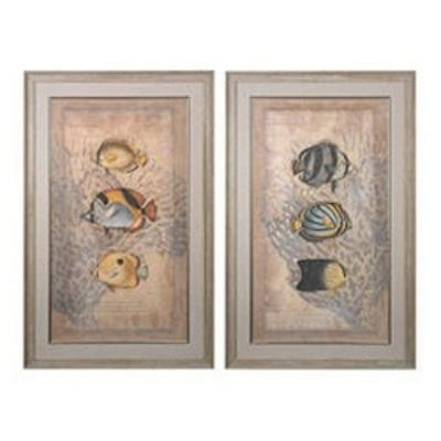 "Sterling Industries 151-022/S2 54"" Decorative Wall Art (Set Of 2)"