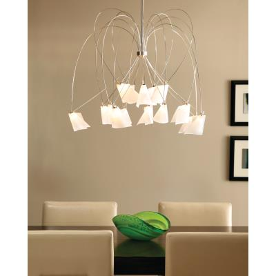 "Tech Lighting 700RHAP Rhapsody - Fifteen Light 32"" Chandelier"