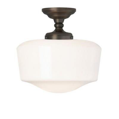 Tech Lighting 600TVRC Tavern - One Light Semi-Flush Mount