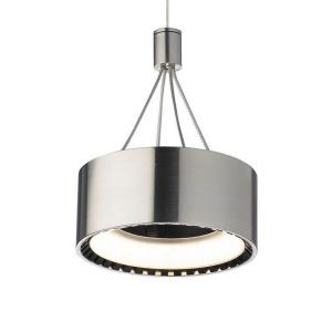 "Corum - 6"" 7.2W 1 LED Monorail Low-Voltage Pendant"