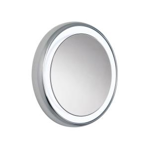 "Tigris - 29.5"" 39.6W 9 LED Round Recessed Bath Vanity Mirror"