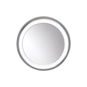 Tigris - Nine Light Surface Round Mirror
