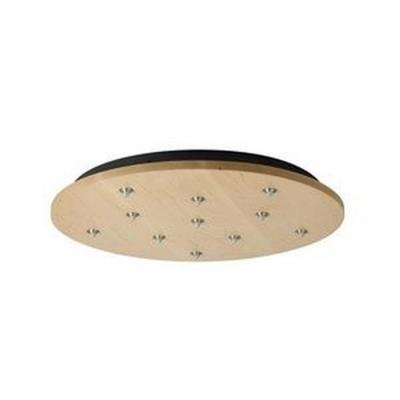Tech Lighting 700FJRD11 Accessory - 11-Port Free-Jack Round Canopy