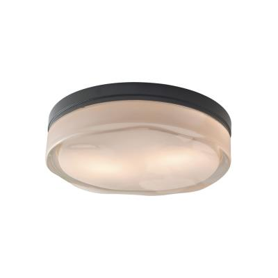 Tech Lighting 700FMFLDRL Fluid - Two Light Round Large Flush Mount
