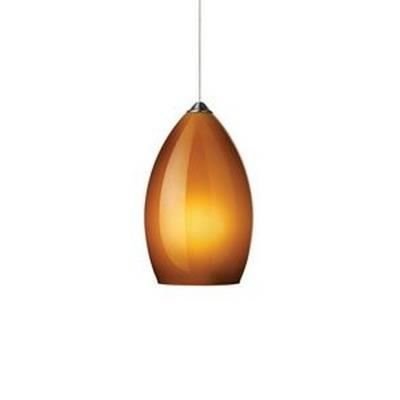 Tech Lighting 700KLFIRF Firefrost - One Light Kablelite Low Voltage Pendant