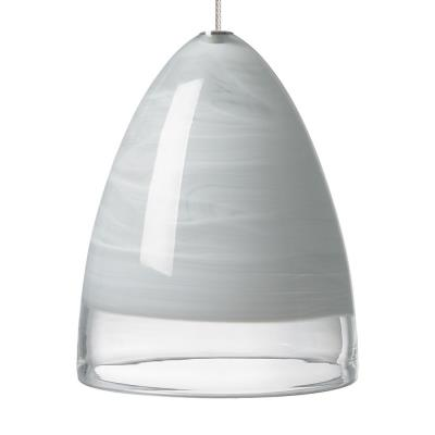 Tech Lighting 700MPNEBLW Nebbia - One Light MonoPoint Low Voltage Pendant