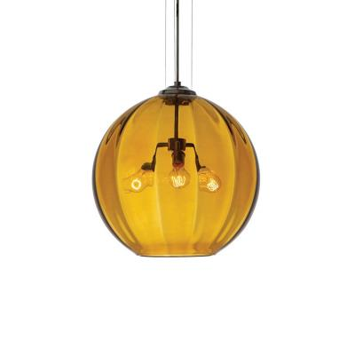 Tech Lighting 700TDWORP World - Three Light Line-Voltage Pendant