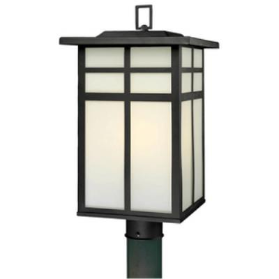 Thomas Lighting SL90067 Mission - Three Light Outdoor Post Lantern