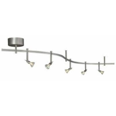Tiella by Tech 800RAL5MKN 5-Light Decorative Flexible Track Light