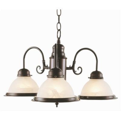 Trans Globe Lighting 1098 Back To Basics - Three Light Chandelier