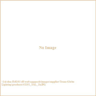 Trans Globe Lighting 41101 The Standard - One Light Outdoor Bulkhead