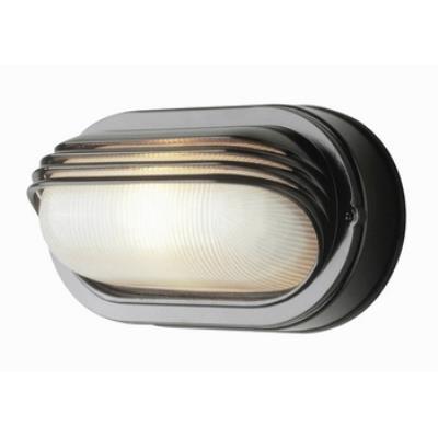Trans Globe Lighting 4123 The Standard - One Light Oval Bulkhead - Eye Lash