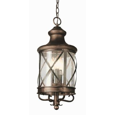 Trans Globe Lighting 5126 ROB Four Light Outdoor Hanging Lantern