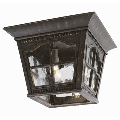 Trans Globe Lighting 5427 Chesapeake - Three Light Outdoor Flush Mount