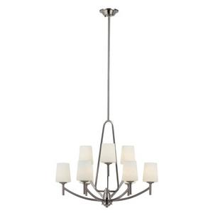 Avant Arc - Nine Light 2-Tier Adjustable Chandelier