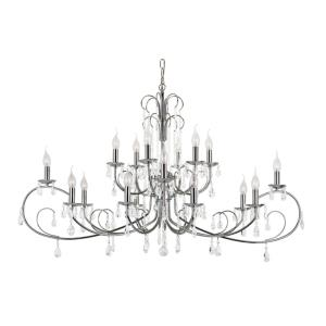 Chic Nouveau - Eighteen Light 3-Tier Chandelier