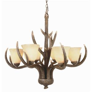 Country Style - Six Light Chandelier