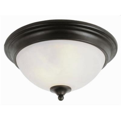 Trans Globe Lighting 7291 Back to Basics - Two Light Flush Mount