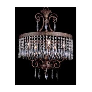 Crystal Flair - Five Light Crystal Chandelier