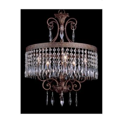 Trans Globe Lighting 8395 Crystal Flair - Five Light Crystal Chandelier