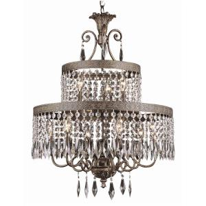 Crystal Flair - Nine Light Crystal Chandelier