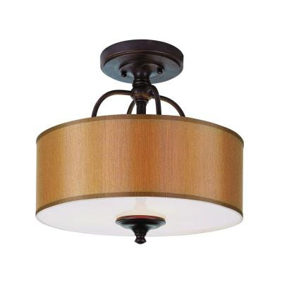 Trans Globe Lighting 9620 Three Light Round Semi-Flush Mount
