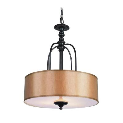 Trans Globe Lighting 9624 Three Light Shade Pendant