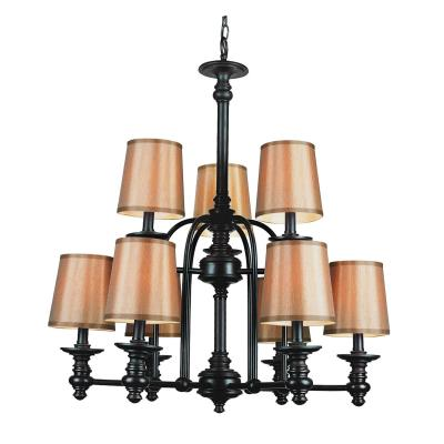 Trans Globe Lighting 9629 Nine Light Chandelier