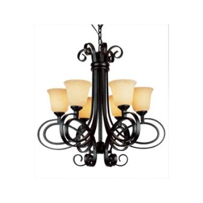Trans Globe Lighting 9916 New Century - Six Light Chandelier