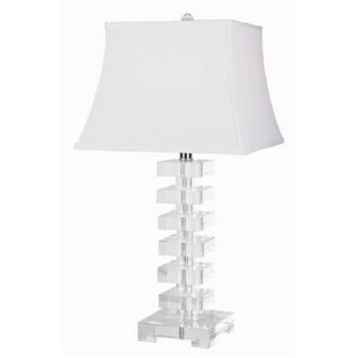 Trans Globe Lighting RTL-121 Lamps & Home Decor - One Light Crystal Table Lamp