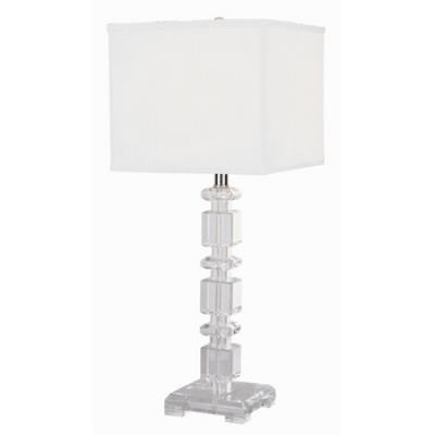 Trans Globe Lighting RTL-122 Lamps & Home Decor - One Light Crystal Table Lamp